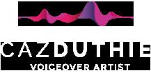 Uk voice over artist footer logo
